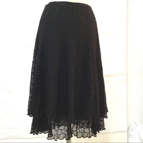 Elie Tahari Dresses & Skirts - Elie Tahari Black Skirt-Size 6